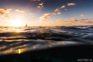 Sunset Bonaire by atroy9