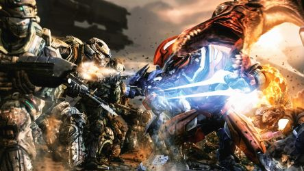 The Battle of Reach V.2 by LordHayabusa357