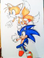 Sonic and Tails - 'Come Fly With Me' by connieiscrazy