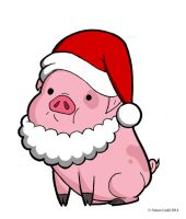 Waddles Claus Is Comin' To Town by Blitzkrieg1701