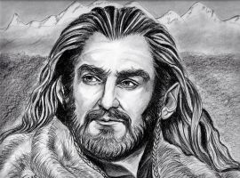 Richard Armitage - Thorin King Under the Mountain by jos2507