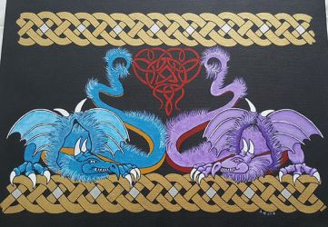 Furry Dragons by RaNuit