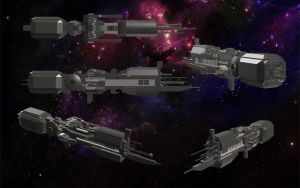 USS SULACO by Drake-Wyvern