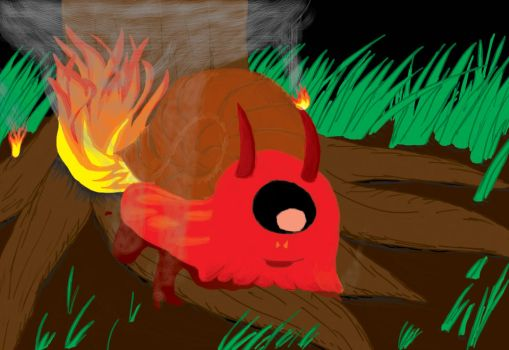 fire snail by holdenlee