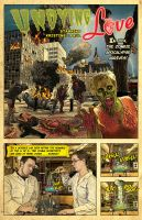 Zombie Invitation (Front) by Huwman