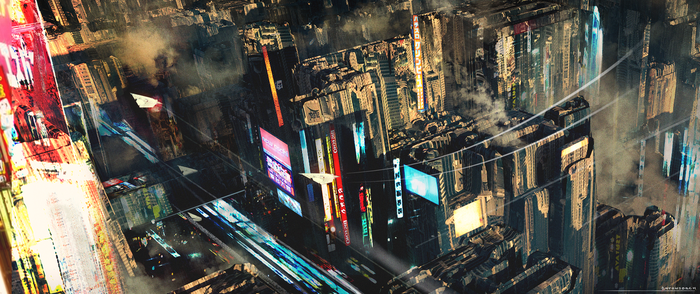 Future City by antonjorch