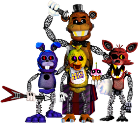 Toon-In Right Now!(Toon-Out Animatronics) by SaltyGibusEdits