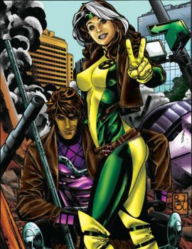 Rogue and gambit colors 2 by brimstoneman34