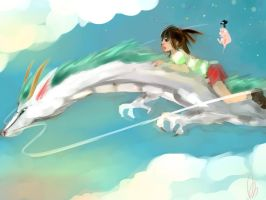 Spirited Away by AnnCalina