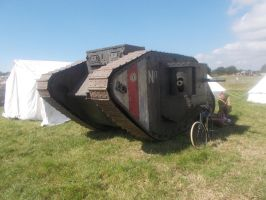 WW1 Male tank replica by FFDP-Neko