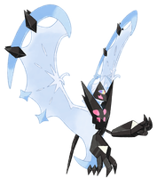 Necrozma Dawn Wings (Ultra Lunala)