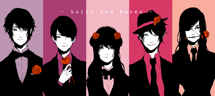 GTRO: Suits And Roses by Nippows