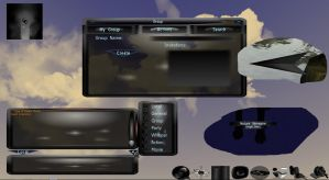 OUTDATED? MOD Dark Phoenix Deluxe GUI Theme by Divine-Angel-Heroine