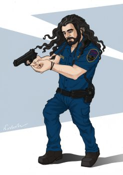 Police Officer Thorin by Norloth