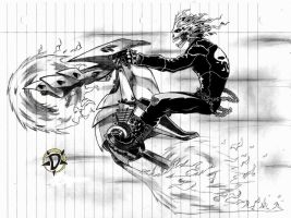 ghost rider 2099 by Doarted