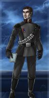 Captain Carsson Thrace by Asarea