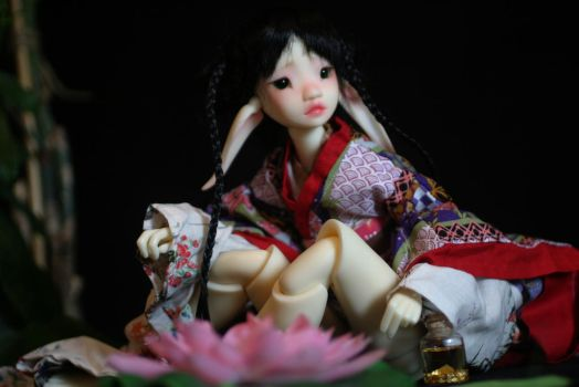 Pandora elfe creme available on jpop dolls by sombrewoodolls