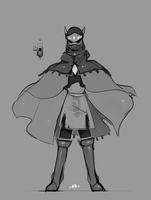 Hyper Light Drifter WIP by NovaBytes