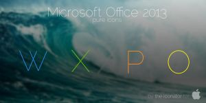 Microsoft Office 2013 Icons by theiconator