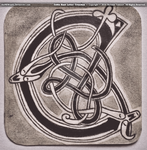 Celtic Knot Letter - Cruachan by theNEWoath