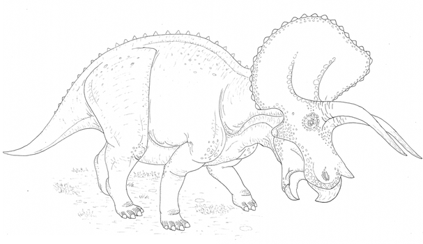 Triceratops by Aesirr