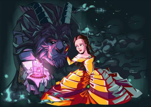 Beauty  the Beast by Shaolinyan89