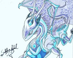 Ice Dragon by anovacore