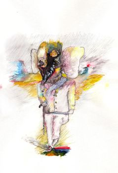 The Elephant Man by whiite