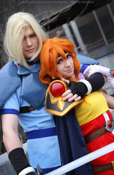 Lina and Gourry 8 by GreatQueenLina