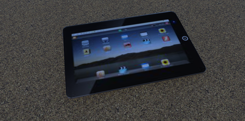 Android Tablet by Aposteri
