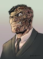 Two-Face by ParisAlleyne