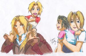 family Elric by Seto01