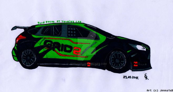 Ford Focus ST Touring Car by Jenna1xD