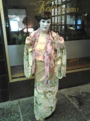 Geisha costume for halloween party by peterandwendy