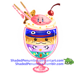 Kirby Friend Parfait by ShadedPenumbra