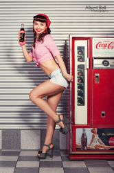Pin-Up Girl - Natalie II by BellPhotography