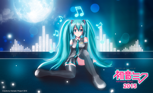 Miku Hatsune - Night Singing by hansels