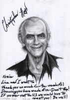 Sign of Christopher Lloyd by Smeha
