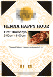 Henna Happy Hour by HWO