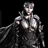 Faora from Man of steel by dominiquefam