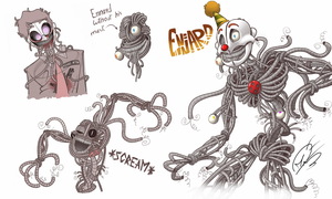 Ennard Sketch | FNAF Sister Location by AngosturaCartoonist