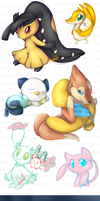 Pokemon spam dump