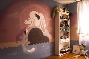The bedroom of the Sea .o3 by muneen