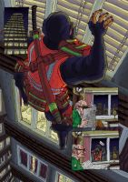 'The Postmen' Ninja postman by MattRIllustration