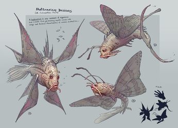 butterfish designs by Paintpaul
