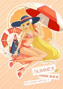 Summer, come back, your people need you by alamisterra