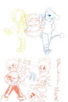 :Undertale: Offspring theory DOODLEZ by perfectshadow06