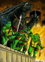 Turtle Power!  Commission by KaijuKid