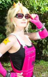 Badass Peachy ~ strong and proud by YukinaCosplay