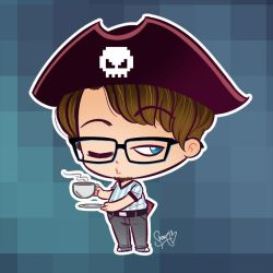 Geek Pirate by ShouriMajo